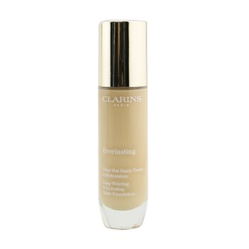 Clarins Everlasting Long Wearing & Hydrating Matte Foundation - # 108.3N Organza