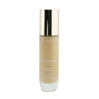 Clarins Everlasting Long Wearing & Hydrating Matte Foundation - # 108.5W Cashew