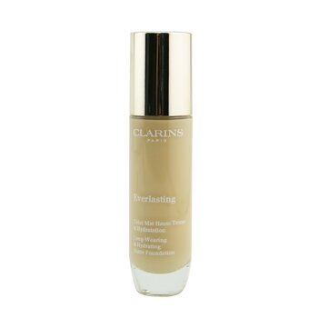 Clarins Everlasting Long Wearing & Hydrating Matte Foundation - # 110N Honey