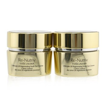 Estee Lauder Re-Nutriv Ultimate Lift Regenerating Youth Eye Creme Duo