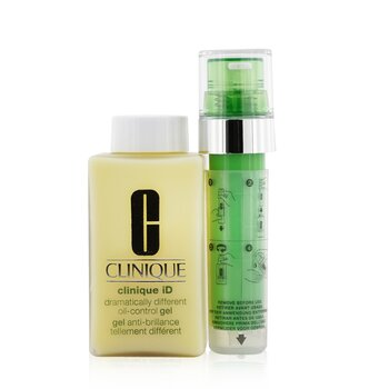 Clinique Clinique iD Dramatically Different Oil-Control Gel + Active Cartridge Concentrate For Irritation