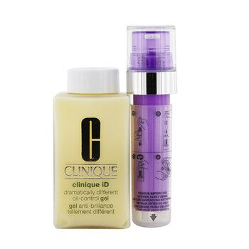 Clinique Clinique iD Dramatically Different Oil-Control Gel + Active Cartridge Concentrate For Lines & Wrinkles (Purple)