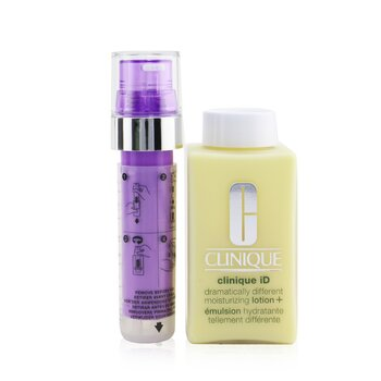 Clinique Clinique iD Dramatically Different Moisturizing Lotion+ + Active Cartridge Concentrate For Lines & Wrinkles (Purple)