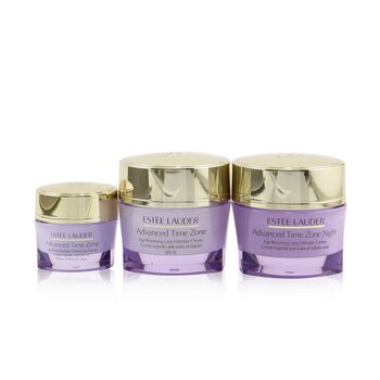 Estee Lauder Advanced Time Zone 3-To-Travel Set: Wrinkle Creme SPF 15 50ml+ Night Wrinkle Creme 50ml+ Wrinkle Eye Creme 15ml
