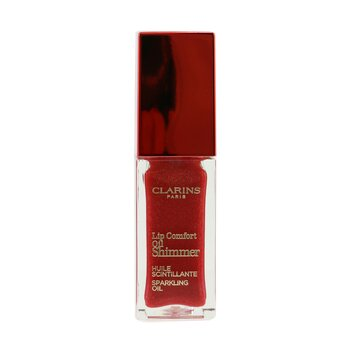 Clarins Lip Comfort Oil Shimmer - # 07 Red Hot