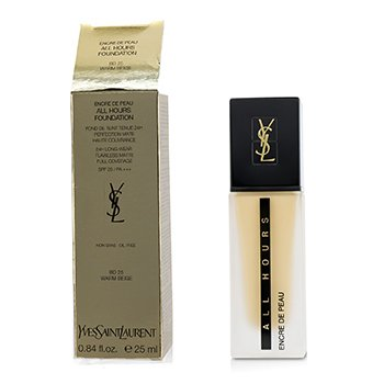 Yves Saint Laurent All Hours Foundation SPF 20 - # BD25 Warm Beige (Box Slightly Damaged)