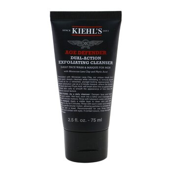 Kiehls Age Defender Dual-Action Exfoliating Cleanser